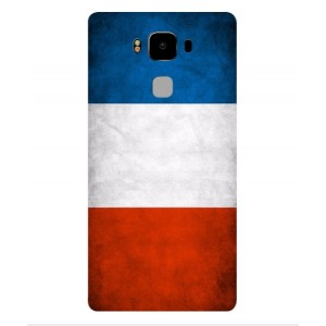Coque De Protection Drapeau De La France Pour Archos Diamond 2 Plus
