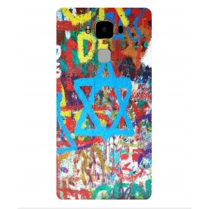 Coque De Protection Graffiti Tel-Aviv Pour Archos Diamond 2 Plus