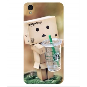 Coque De Protection Amazon Starbucks Pour LG X Skin