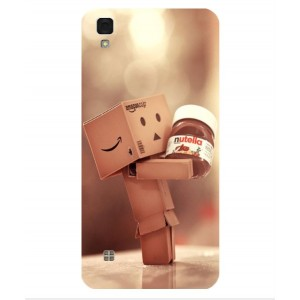 Coque De Protection Amazon Nutella Pour LG X Skin