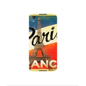 Coque De Protection Paris Vintage Pour BlackBerry DTEK50