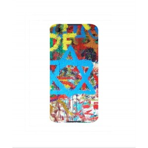 Coque De Protection Graffiti Tel-Aviv Pour BlackBerry Neon