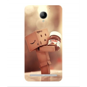 Coque De Protection Amazon Nutella Pour Lenovo Vibe C2