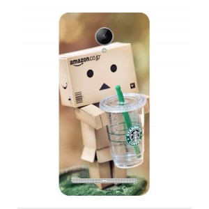Coque De Protection Amazon Starbucks Pour Lenovo Vibe C2