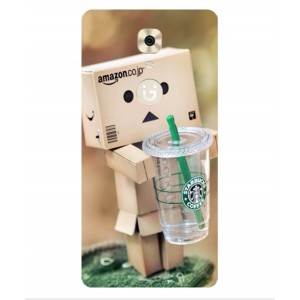 Coque De Protection Amazon Starbucks Pour Gionee Marathon M6 Plus