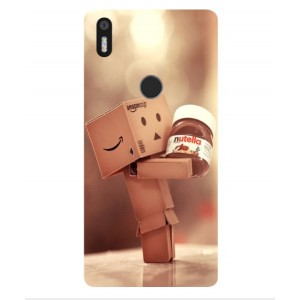 Coque De Protection Amazon Nutella Pour BQ Aquaris X5 Plus