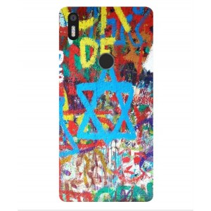 Coque De Protection Graffiti Tel-Aviv Pour BQ Aquaris X5 Plus