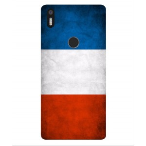 Coque De Protection Drapeau De La France Pour BQ Aquaris X5 Plus