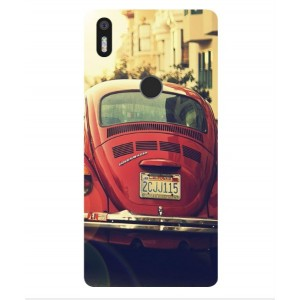 Coque De Protection Voiture Beetle Vintage BQ Aquaris X5 Plus