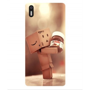 Coque De Protection Amazon Nutella Pour BQ Aquaris X5