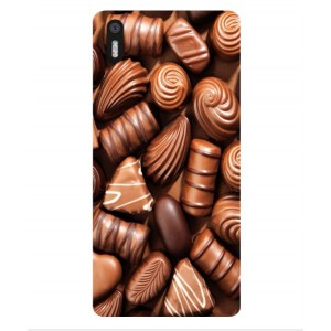 Coque De Protection Chocolat Pour BQ Aquaris X5