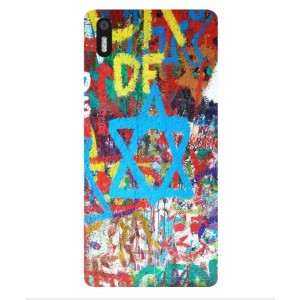 Coque De Protection Graffiti Tel-Aviv Pour BQ Aquaris X5