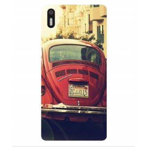 Coque De Protection Voiture Beetle Vintage BQ Aquaris X5