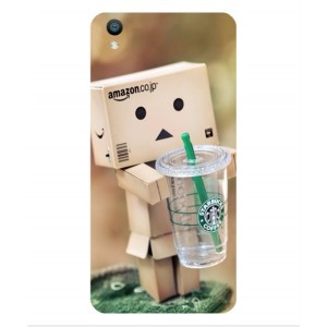 Coque De Protection Amazon Starbucks Pour Oppo F1 Plus