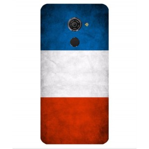 Coque De Protection Drapeau De La France Pour Vodafone Smart Platinum 7