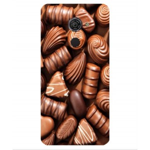 Coque De Protection Chocolat Pour Vodafone Smart Platinum 7