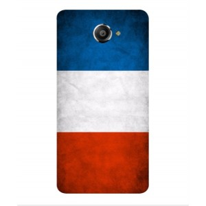 Coque De Protection Drapeau De La France Pour Vodafone Smart Ultra 7