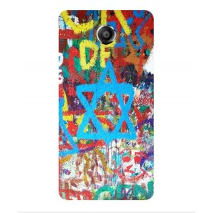 Coque De Protection Graffiti Tel-Aviv Pour Vodafone Smart Ultra 7