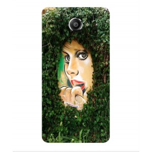 Coque De Protection Art De Rue Pour Vodafone Smart Ultra 7