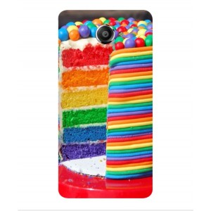Coque De Protection Gâteau Multicolore Pour Vodafone Smart Ultra 7