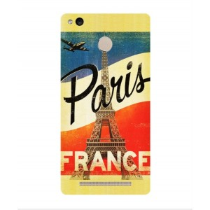 Coque De Protection Paris Vintage Pour Xiaomi Redmi 3x
