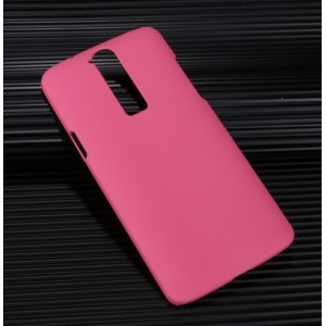 Coque De Protection Rigide Rose Pour ZTE Axon Elite
