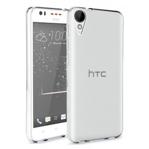 Coque De Protection En Silicone Transparent Pour HTC Desire 628