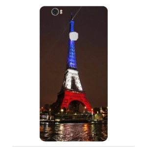 Coque De Protection Tour Eiffel Couleurs France Pour Huawei Honor V8 Max