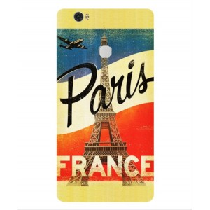 Coque De Protection Paris Vintage Pour Huawei Honor V8 Max