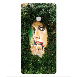 Coque De Protection Art De Rue Pour Huawei Honor V8 Max