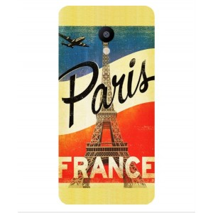 Coque De Protection Paris Vintage Pour Meizu MX6