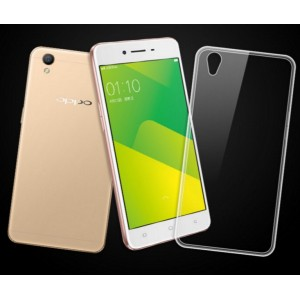 Coque De Protection En Silicone Transparent Pour Oppo A37