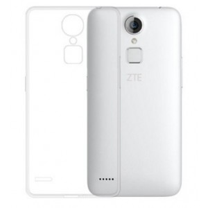 Coque De Protection En Silicone Transparent Pour ZTE Blade V7