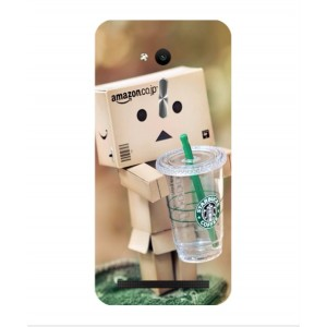 Coque De Protection Amazon Starbucks Pour Asus Zenfone Go ZB450KL