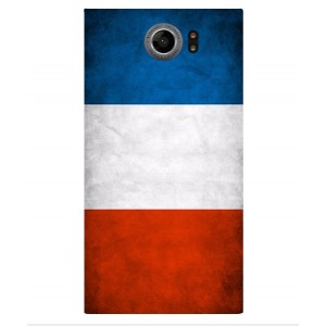 Coque De Protection Drapeau De La France Pour Blackberry Priv