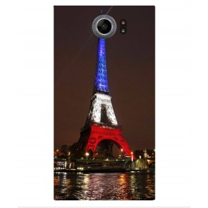 Coque De Protection Tour Eiffel Couleurs France Pour Blackberry Priv