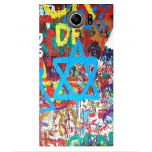Coque De Protection Graffiti Tel-Aviv Pour Blackberry Priv