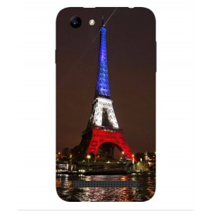 Coque De Protection Tour Eiffel Couleurs France Pour Archos 40 Power