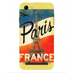 Coque De Protection Paris Vintage Pour Archos 40 Power