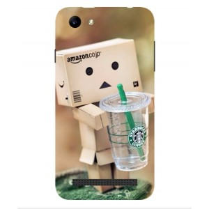 Coque De Protection Amazon Starbucks Pour Archos 40 Power