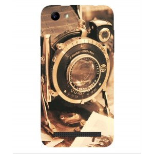 Coque De Protection Appareil Photo Vintage Pour Archos 40 Power