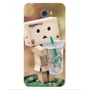 Coque De Protection Amazon Starbucks Pour Archos 50 Cobalt