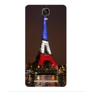 Coque De Protection Tour Eiffel Couleurs France Pour BLU Energy XL