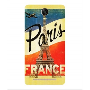 Coque De Protection Paris Vintage Pour BLU Energy XL