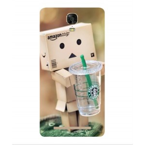 Coque De Protection Amazon Starbucks Pour BLU Energy XL