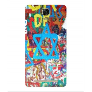 Coque De Protection Graffiti Tel-Aviv Pour BLU Energy XL