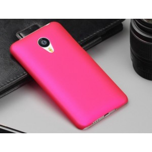 Coque De Protection Rigide Rose Pour Meizu MX6