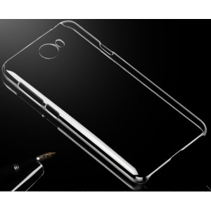Coque De Protection Rigide Transparent Pour Huawei Y5II