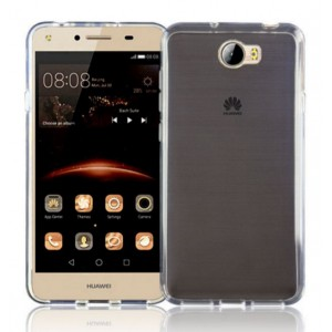 Coque De Protection En Silicone Transparent Pour Huawei Y5II