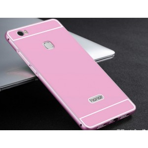 Protection Bumper Rose Pour Huawei Honor 8